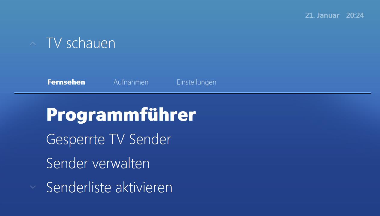 Programmführer